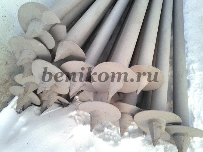 Винтовые сваи 108-3000 грунт