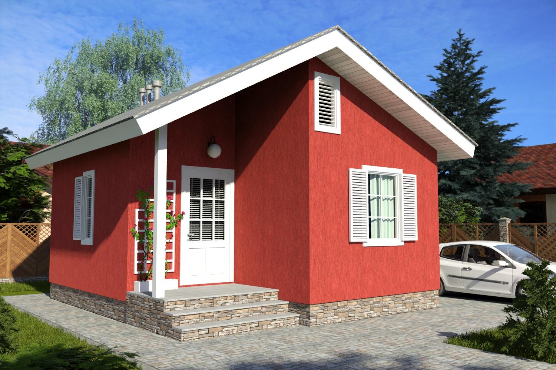 проект маленького дома ПД-142-К-38