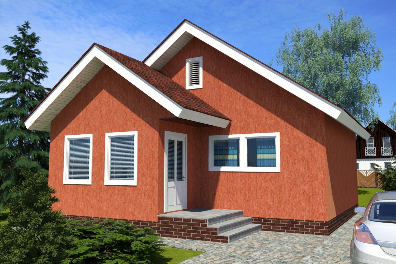 Одноквартирный жилой дом ПД-4-К-65