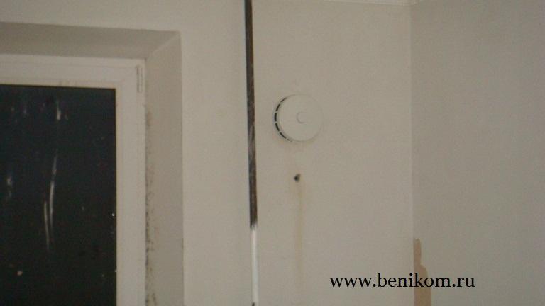 Установка вентиляции КИВ - 125 в квартире Малиновского 6А