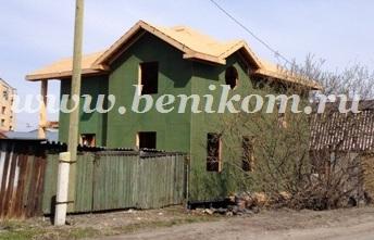 Каркасный дом Зарекой