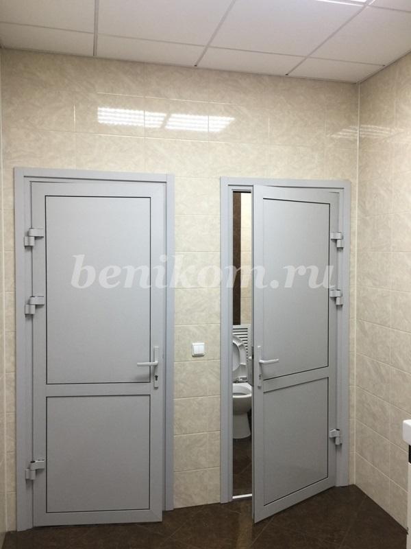 Двери алюминиевые СИАЛ КП 40