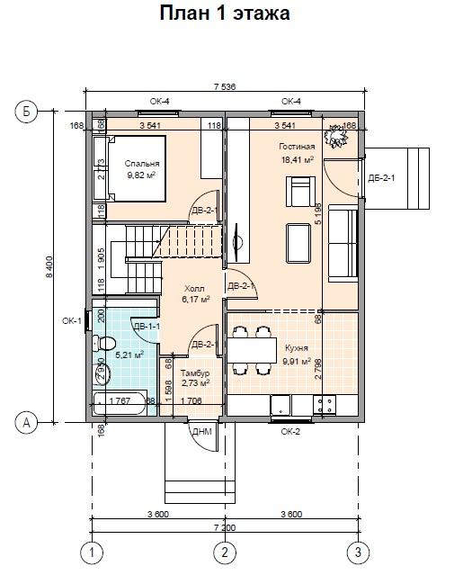 план1 ПД143 1 этаж