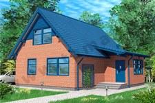 Проект дома 10х10 ПД-37-1-127