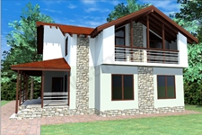 Проект дома Каринтия ПД-303-1-112