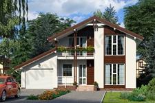 Проект дома Зальцбург ПД-321-1-125