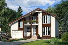 Проект дома Зальцбург ПД-320-1-125