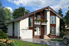 Проект дома Зальцбург ПД-323-1-125