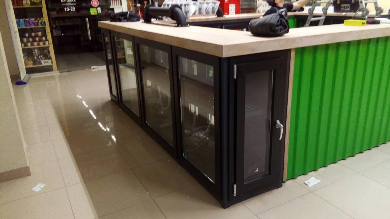 холодильник из алюминиевого профиля для «Ассорти Ресторантс»